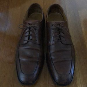 Cole Haan Lace Up Oxfords Brown Leather 11